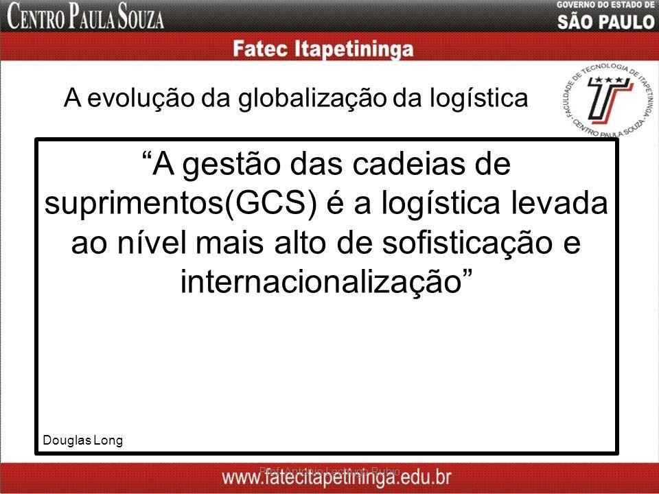 A evolução da globalização da logística