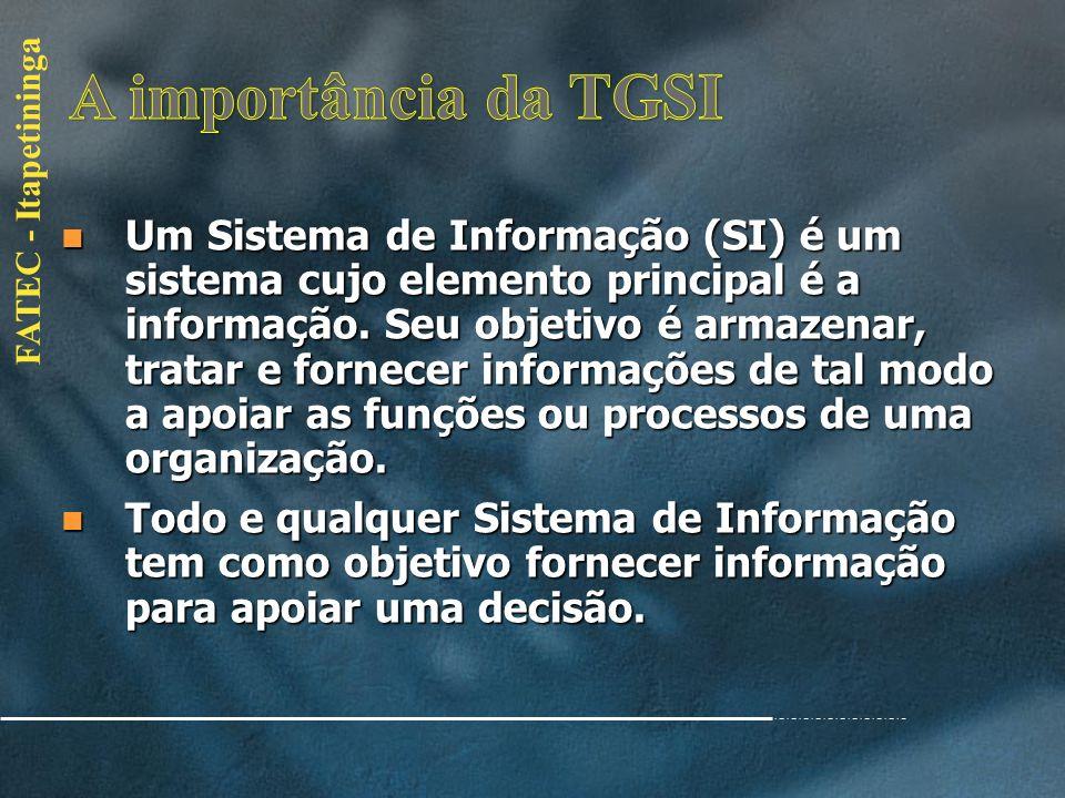 A importância da TGSI