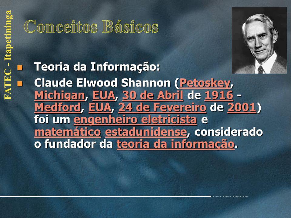 Conceitos Básicos Teoria da Informação: