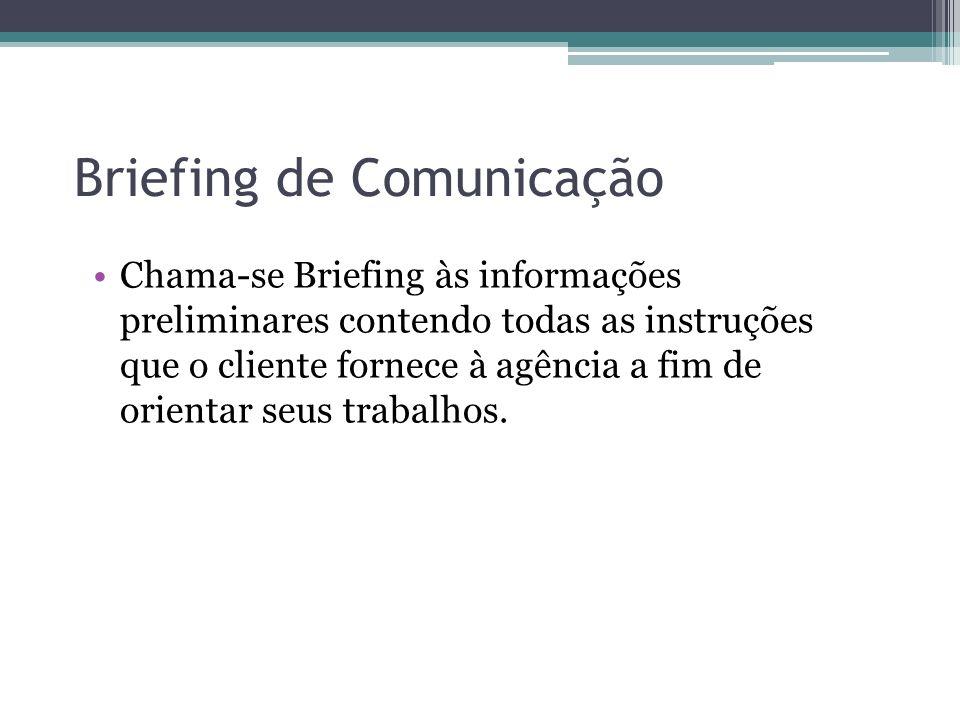 Briefing de Comunicação