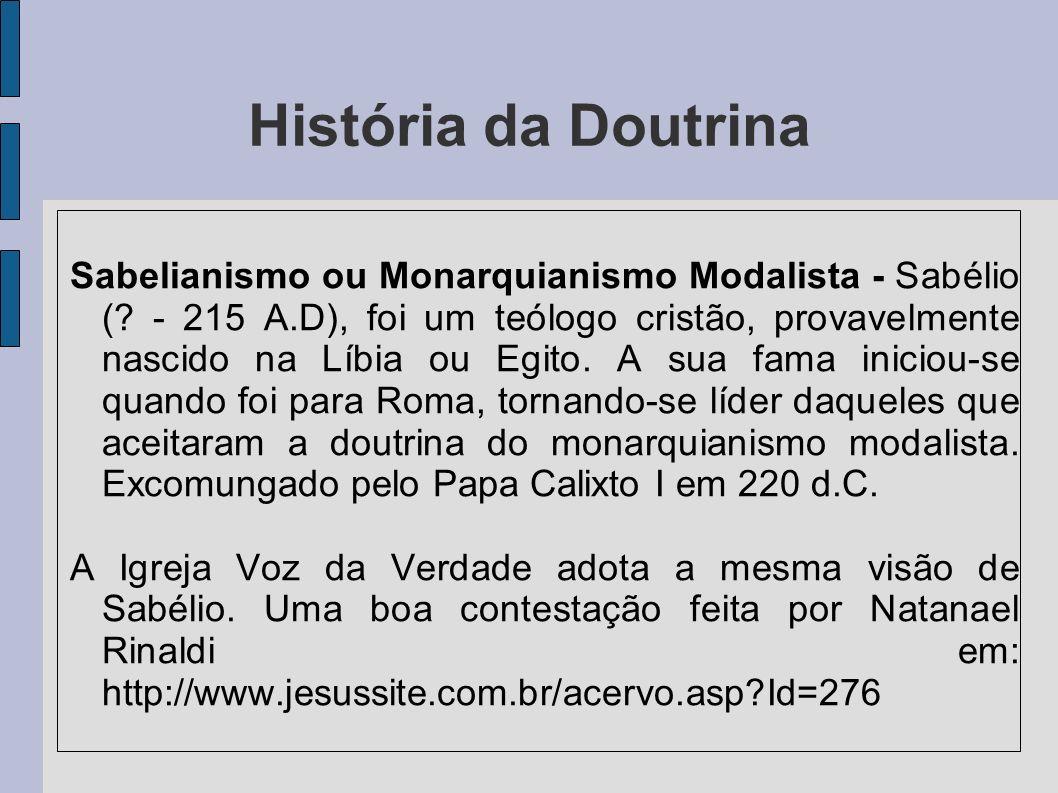 História da Doutrina
