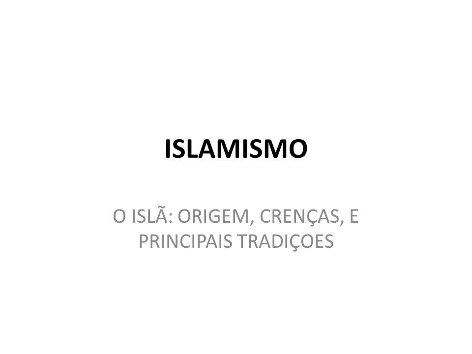 O ISLÃ: ORIGEM, CRENÇAS, E PRINCIPAIS TRADIÇOES