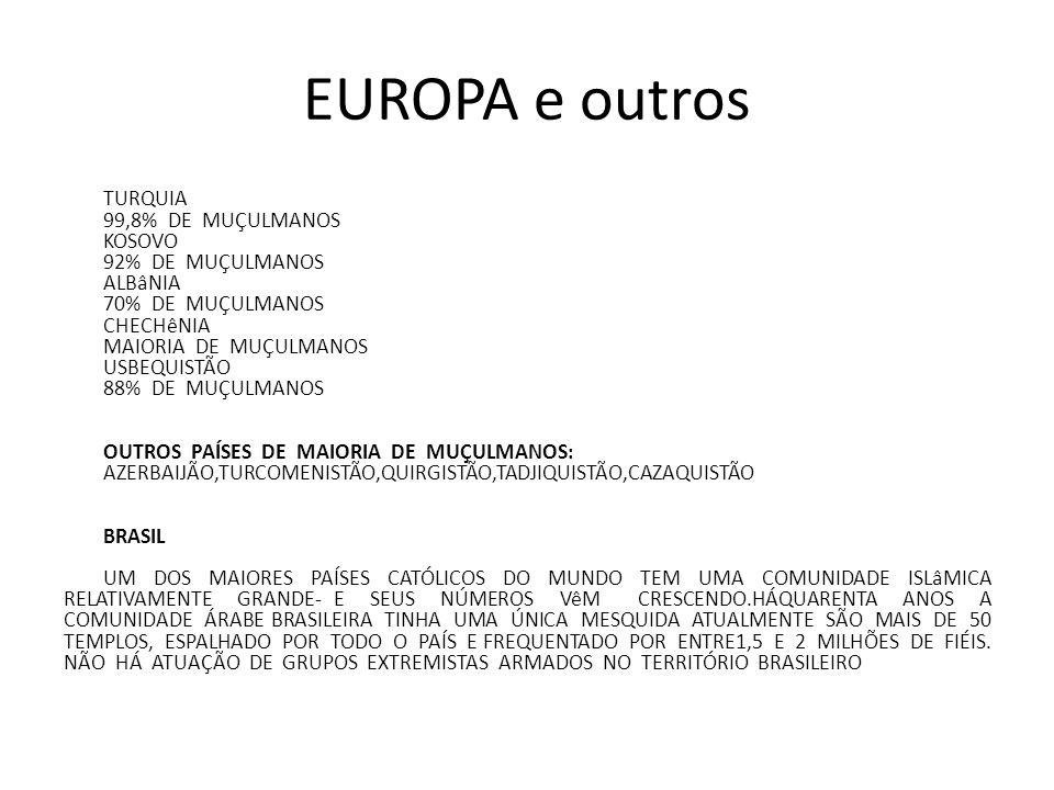 EUROPA e outros
