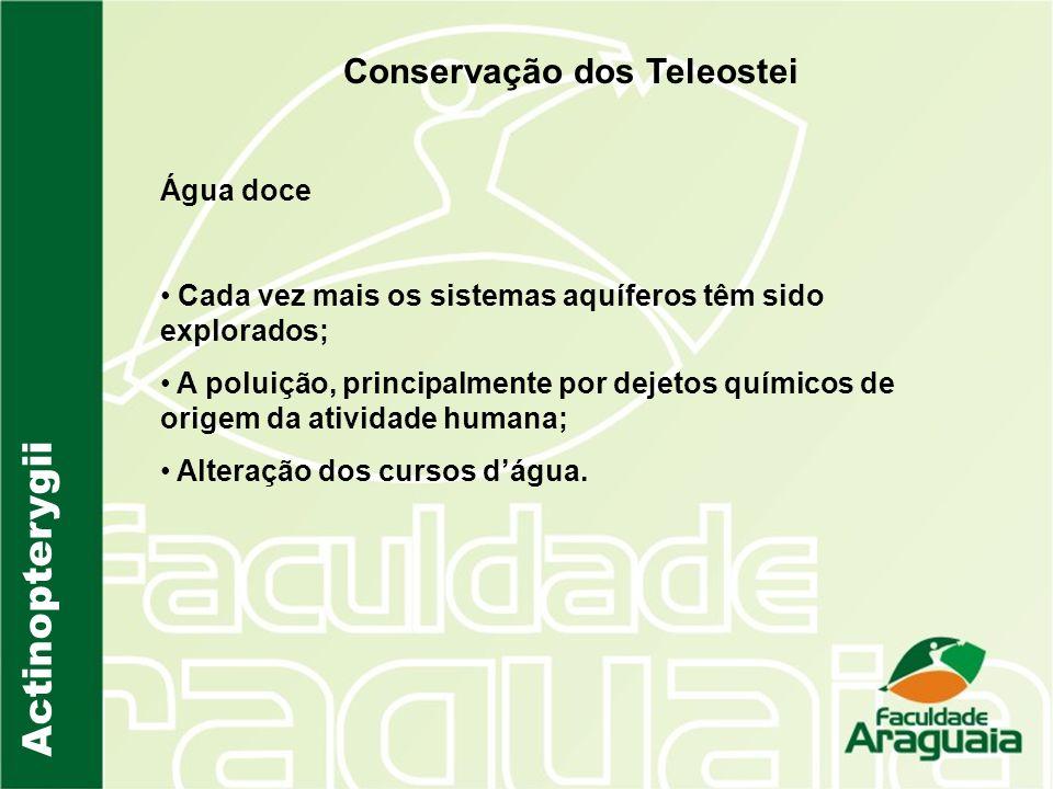 Conservação dos Teleostei