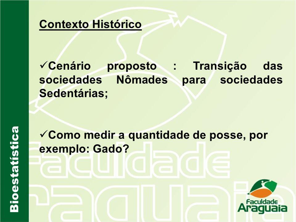 Contexto Histórico Cenário proposto : Transição das sociedades Nômades para sociedades Sedentárias;