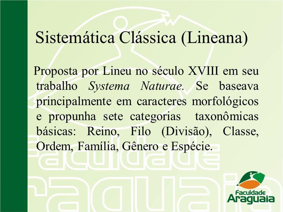 Sistemática Clássica (Lineana)