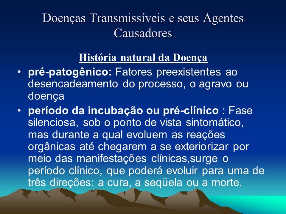 Doenças Transmissíveis e seus Agentes Causadores