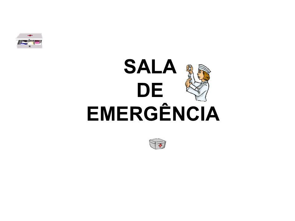 SALA DE EMERGÊNCIA