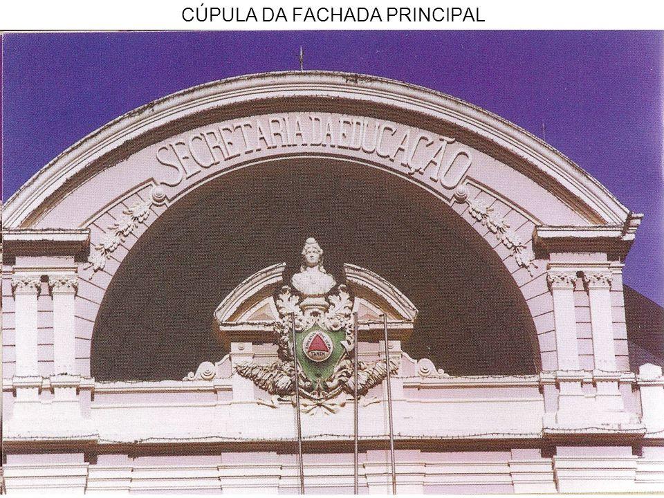 CÚPULA DA FACHADA PRINCIPAL