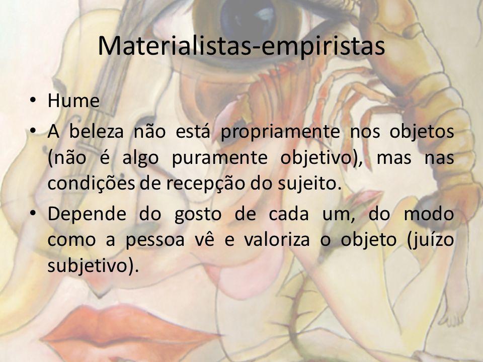 Materialistas-empiristas