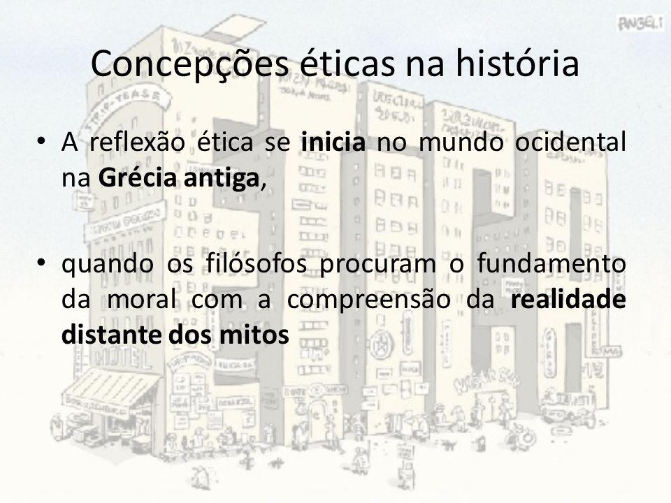Concepções éticas na história