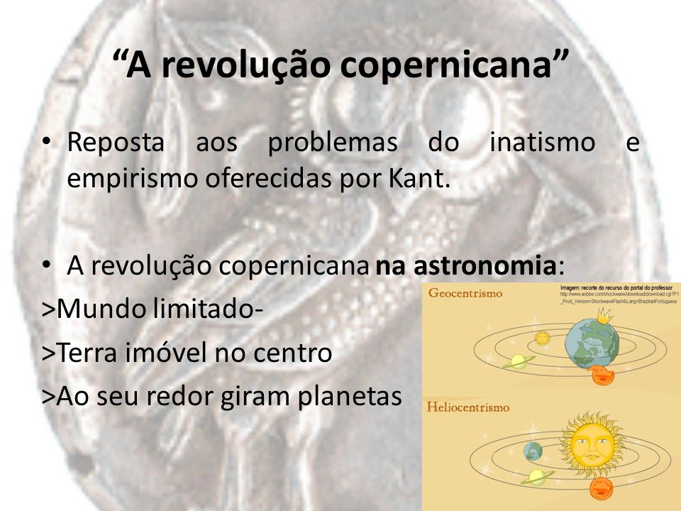 A revolução copernicana
