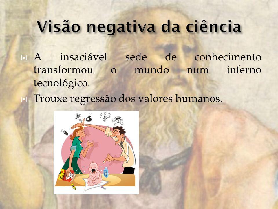 Visão negativa da ciência