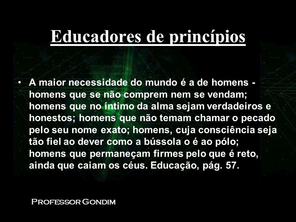 Educadores de princípios