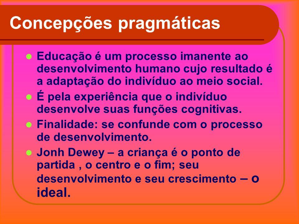 Concepções pragmáticas