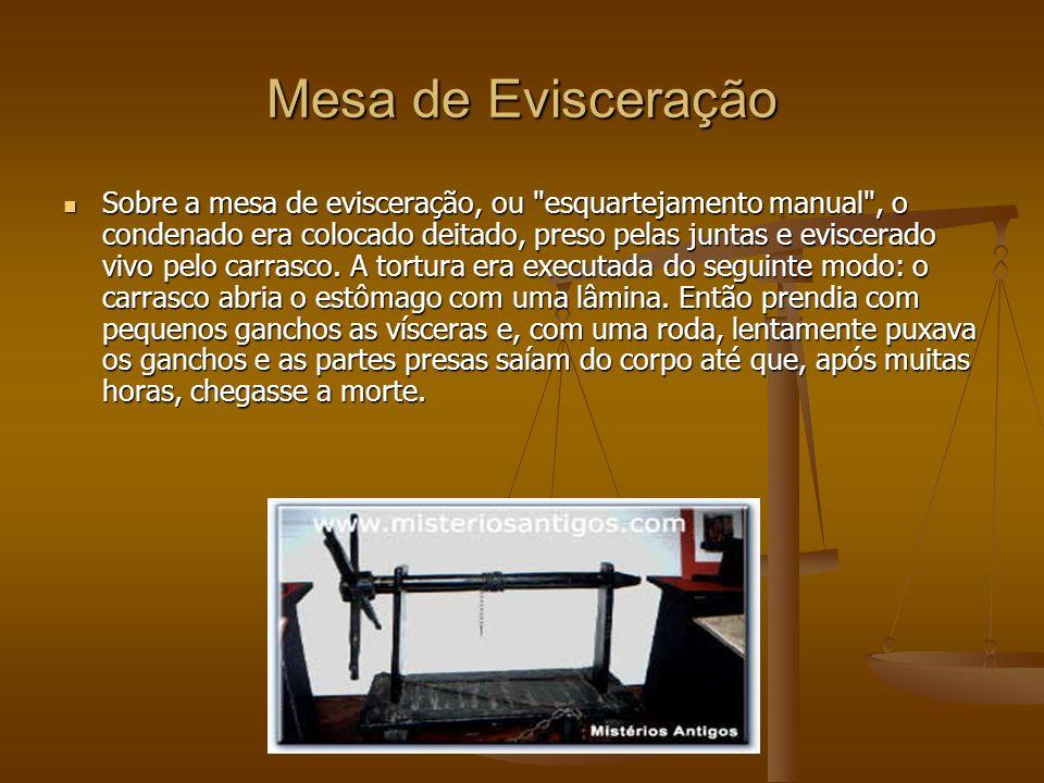 Mesa de Evisceração