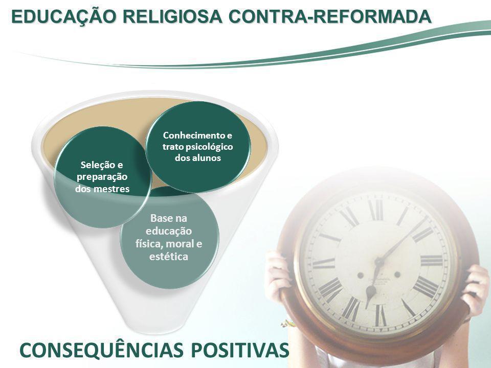 EDUCAÇÃO RELIGIOSA CONTRA-REFORMADA