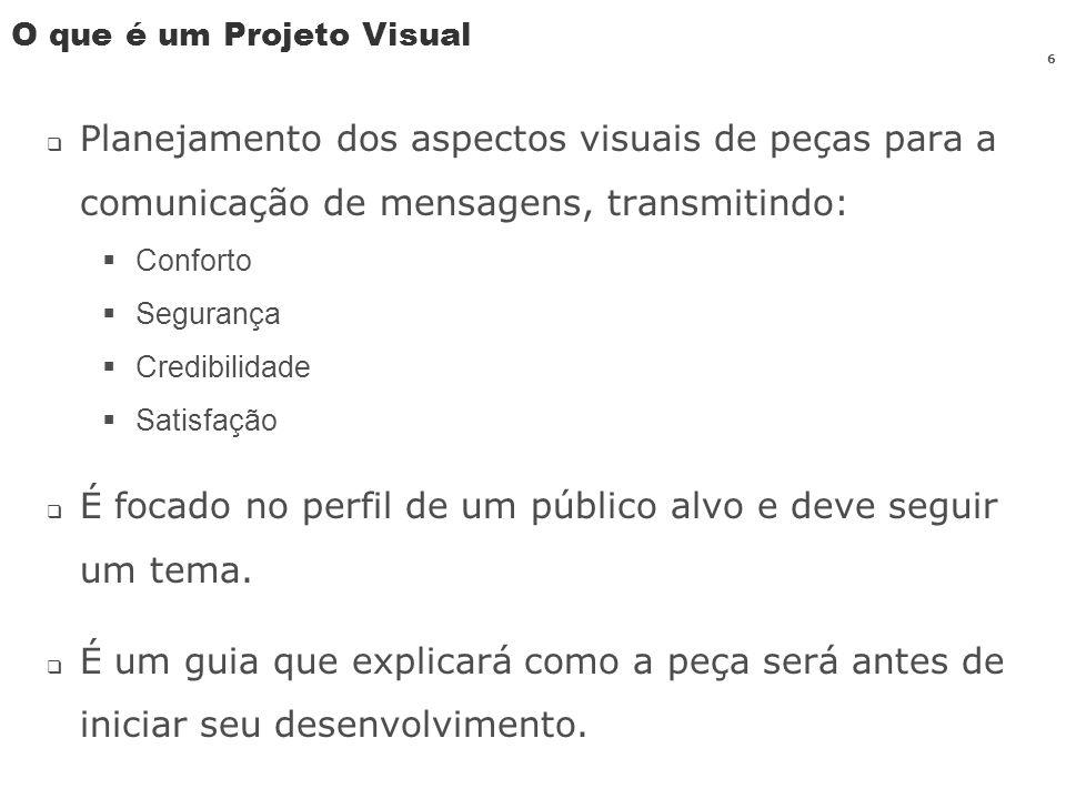 O que é um Projeto Visual