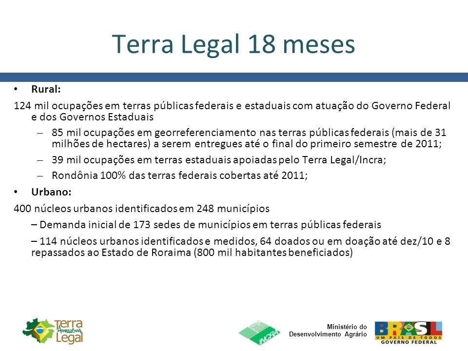 Terra Legal 18 meses Rural: