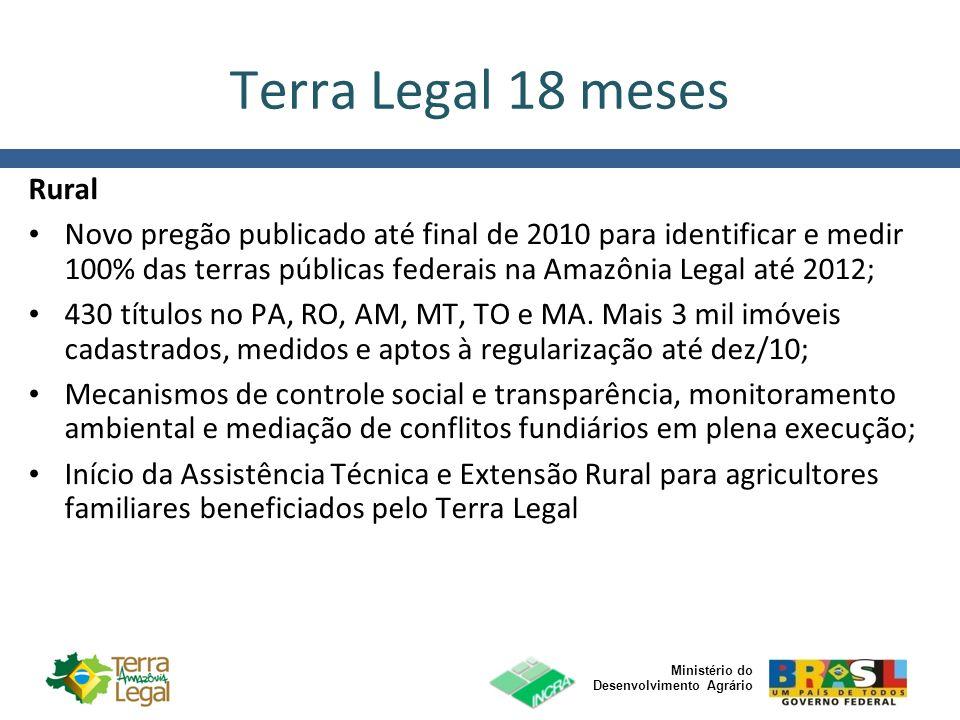 Terra Legal 18 meses Rural