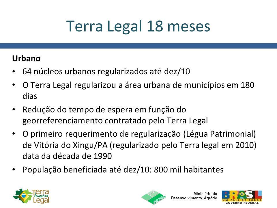 Terra Legal 18 meses Urbano