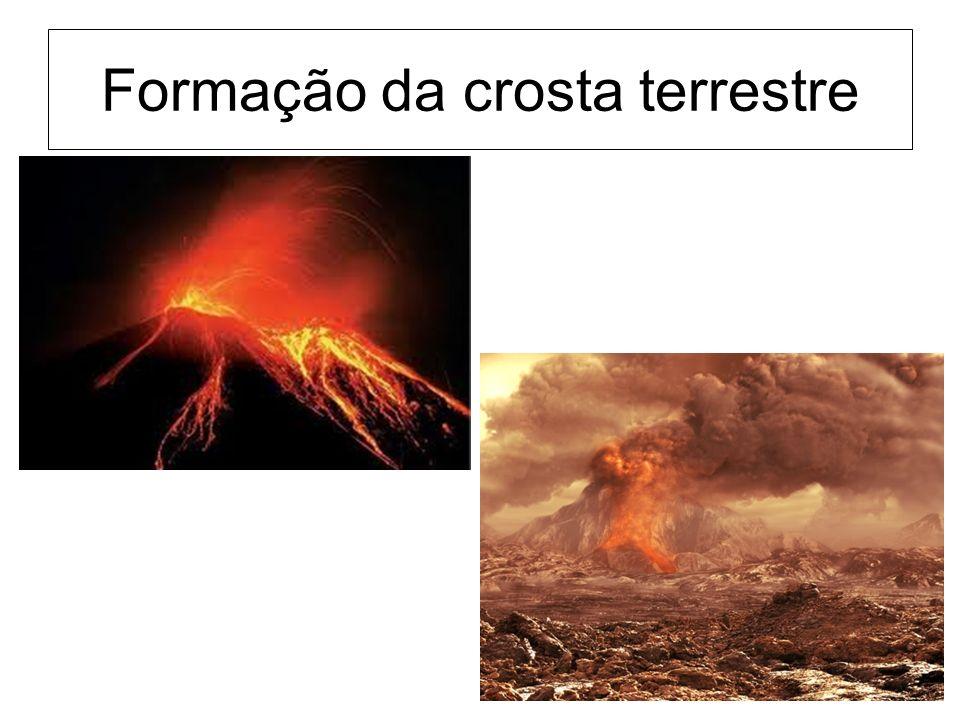 Formação da crosta terrestre