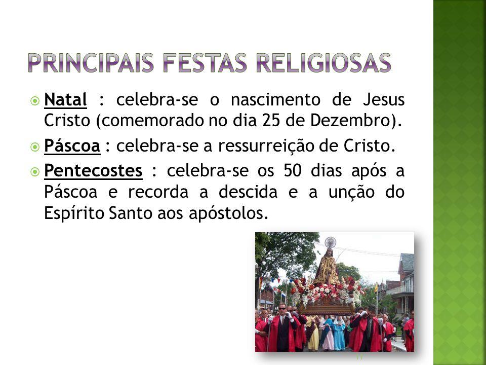 Principais Festas Religiosas
