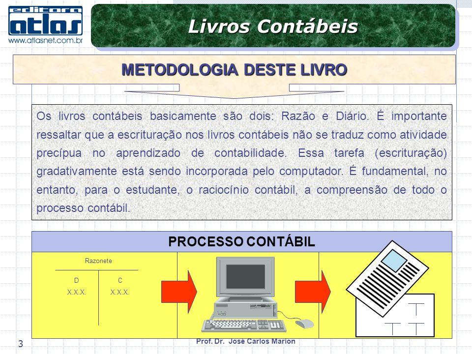 METODOLOGIA DESTE LIVRO