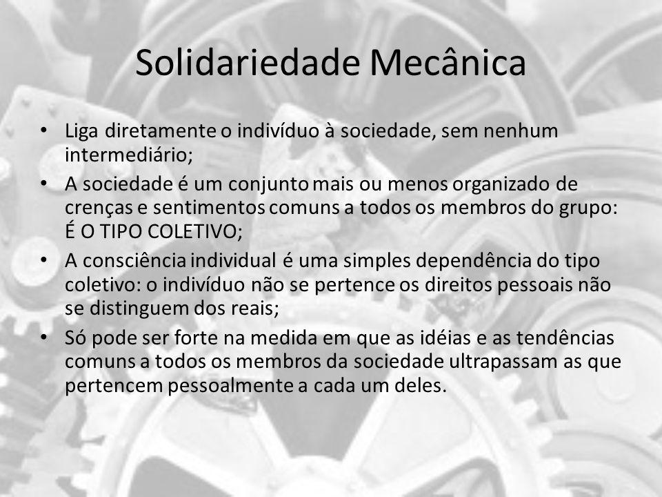 Solidariedade Mecânica