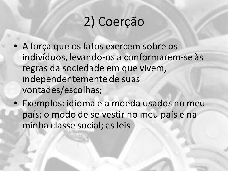 2) Coerção