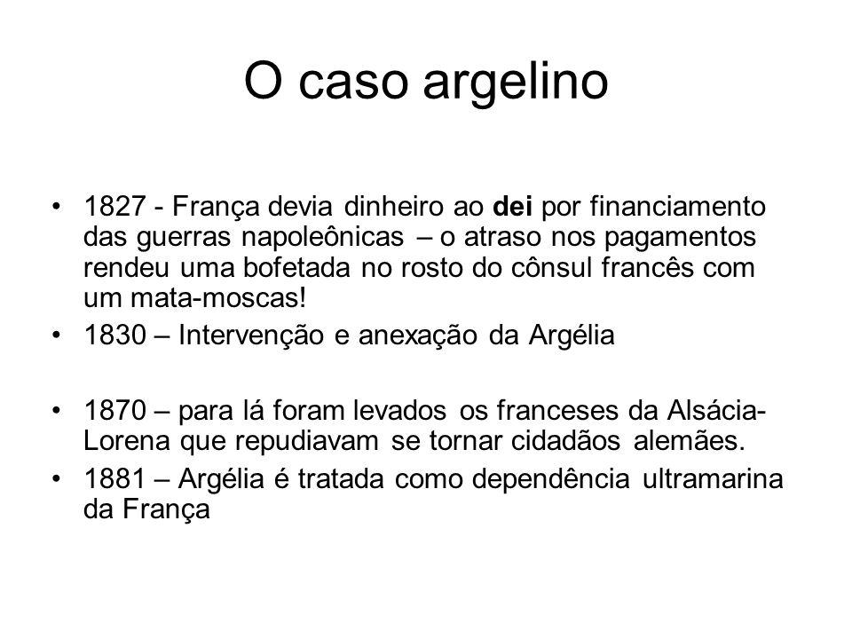 O caso argelino