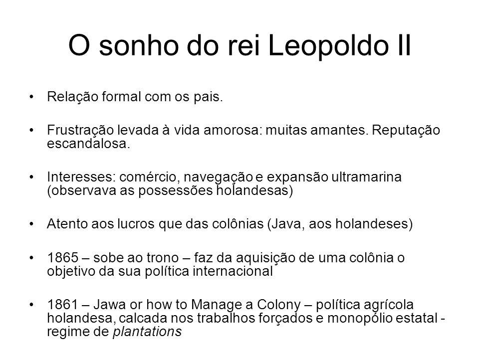 O sonho do rei Leopoldo II