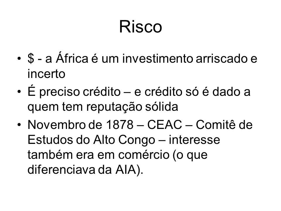 Risco $ - a África é um investimento arriscado e incerto