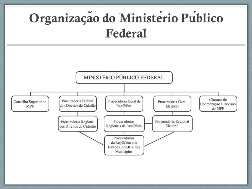 Organização do Ministério Público Federal