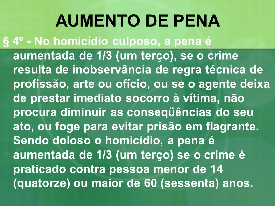 AUMENTO DE PENA