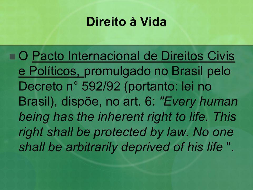 Direito à Vida