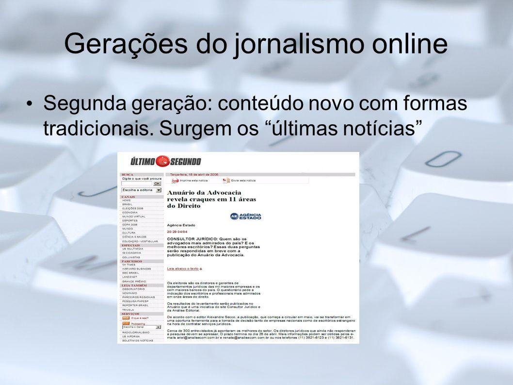 Hipertextualidade no jornalismo online dating 2