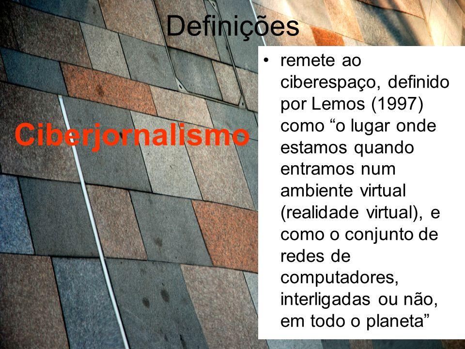 Ciberjornalismo Definições