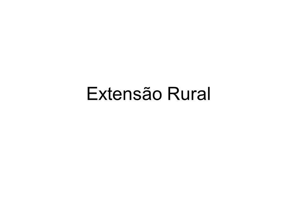 Extensão Rural