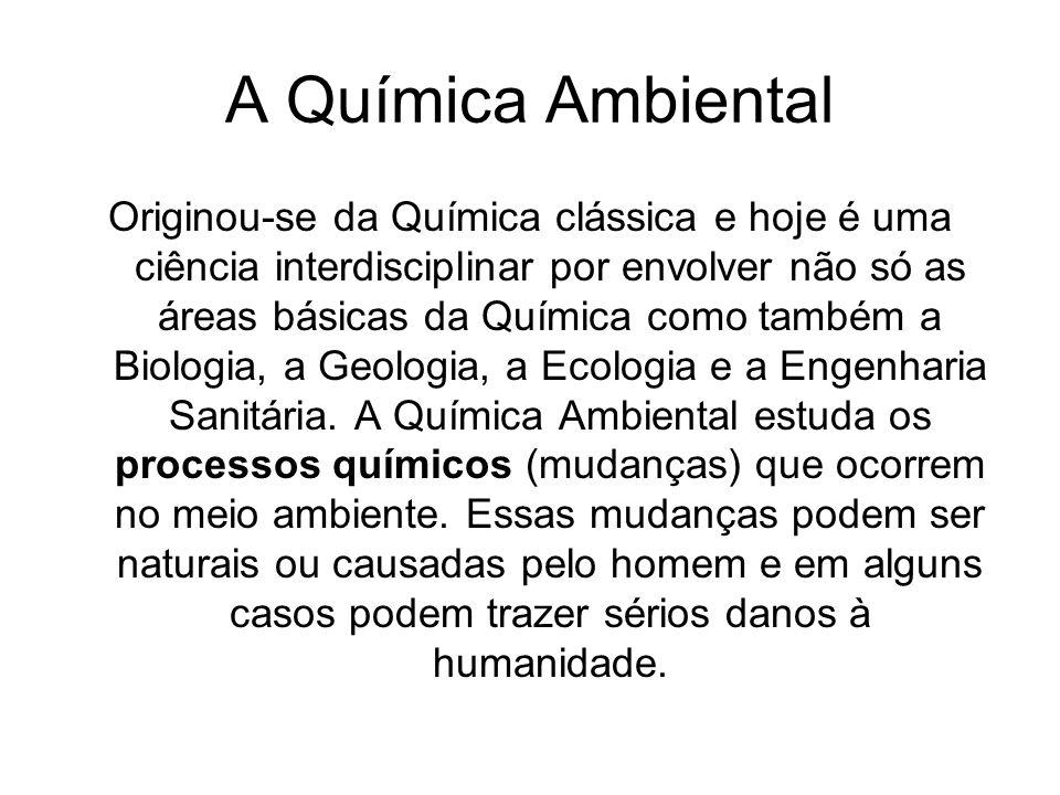 A Química Ambiental