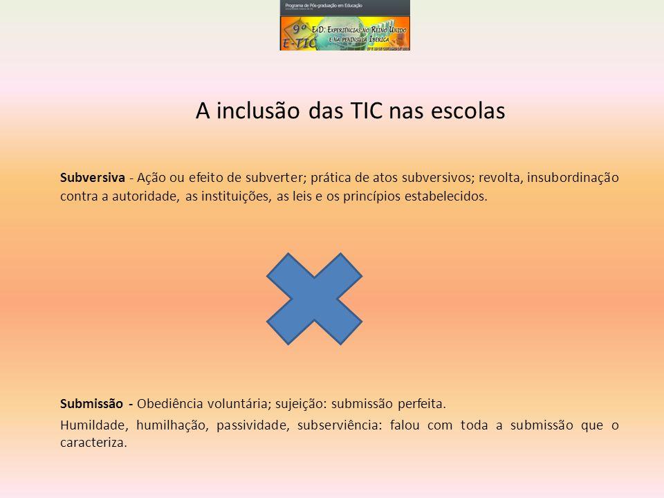 A inclusão das TIC nas escolas