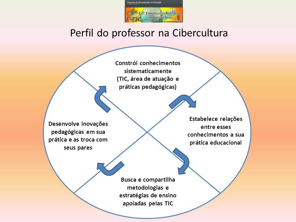 Perfil do professor na Cibercultura