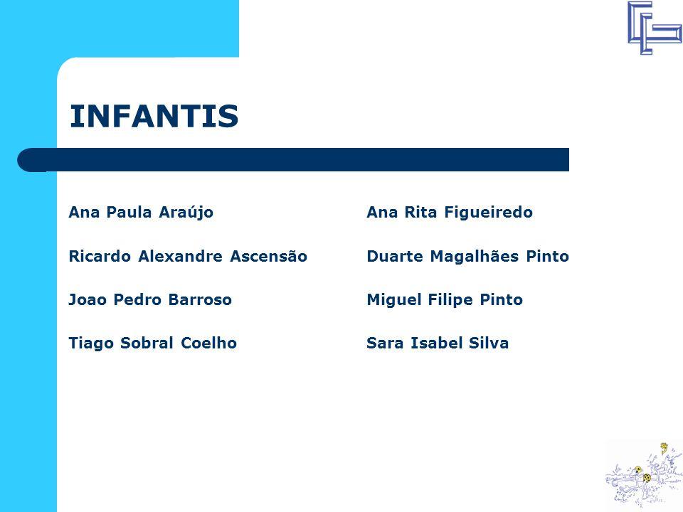 INFANTIS Ana Paula Araújo Ricardo Alexandre Ascensão