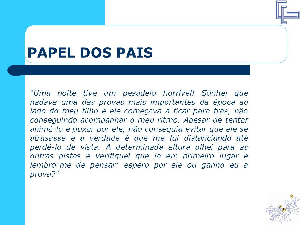 PAPEL DOS PAIS