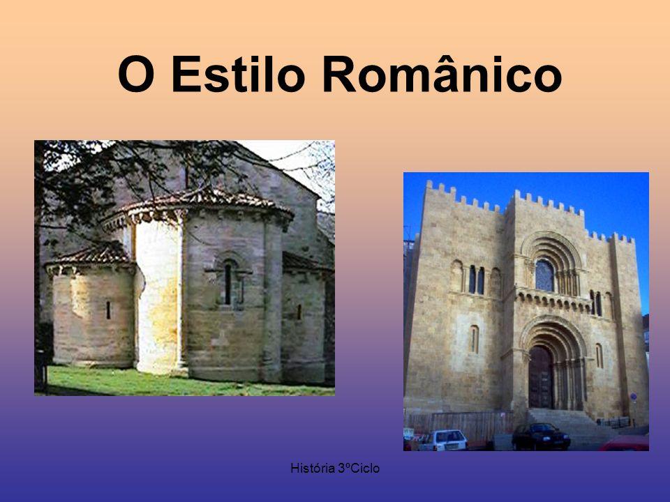 O Estilo Românico História 3ºCiclo