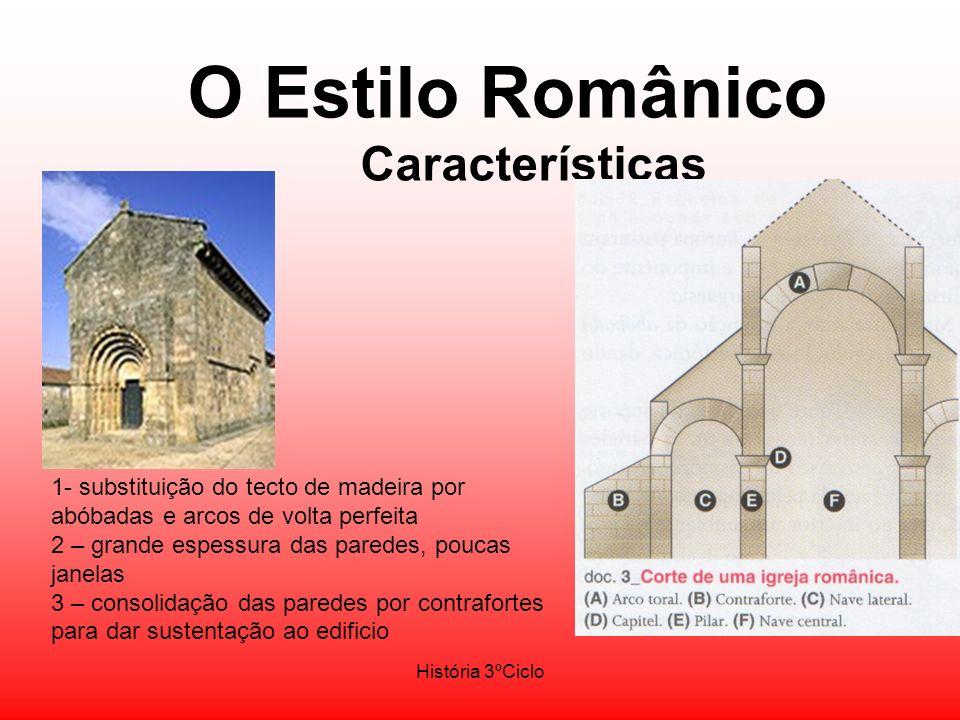O Estilo Românico Características