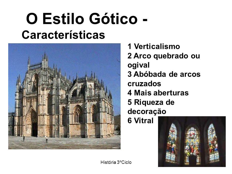O Estilo Gótico - Características