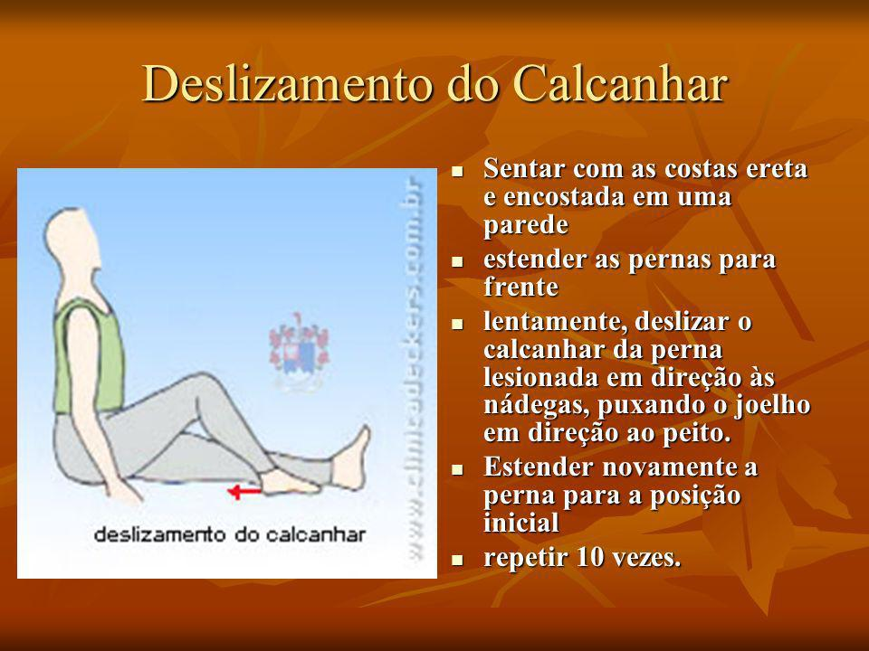 Deslizamento do Calcanhar