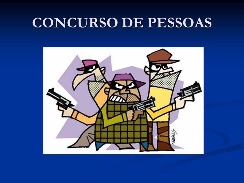 CONCURSO DE PESSOAS