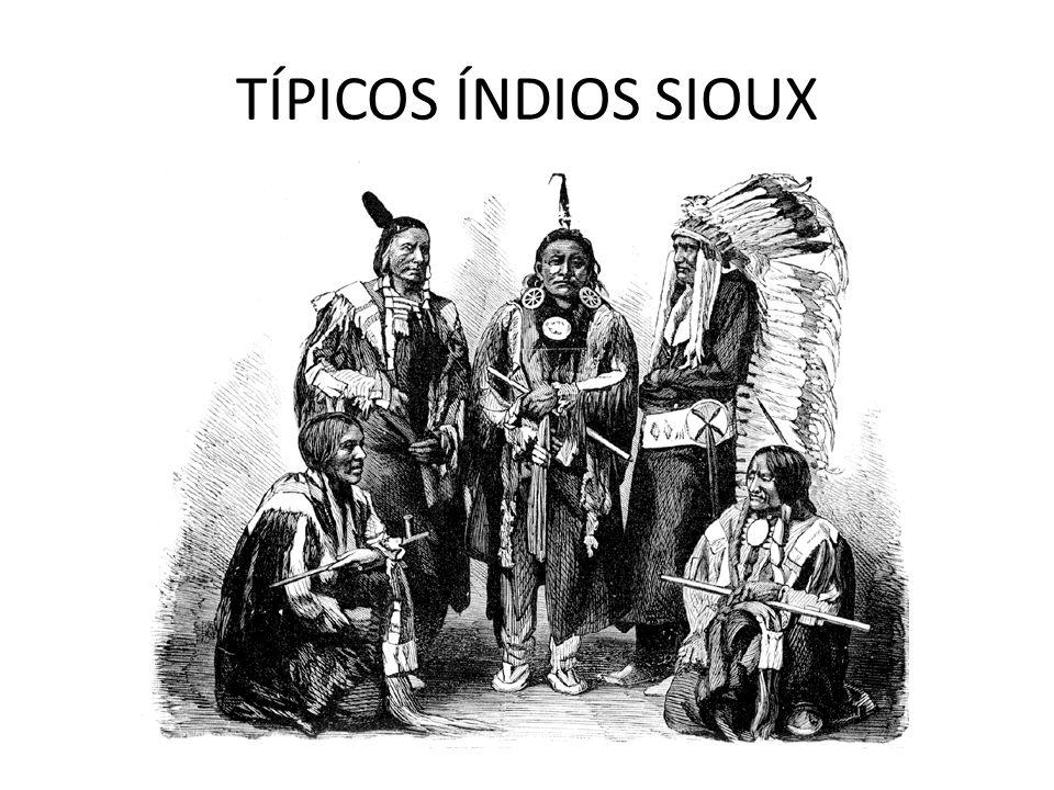 TÍPICOS ÍNDIOS SIOUX